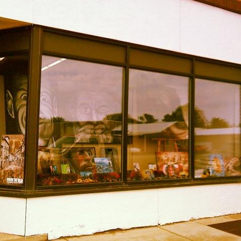 Sidewalk Art Gallery